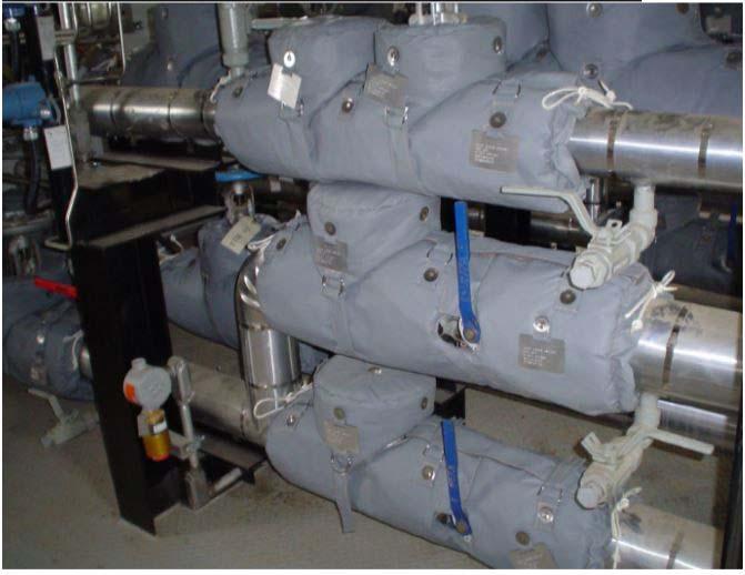 Isolamento térmico para tubulação