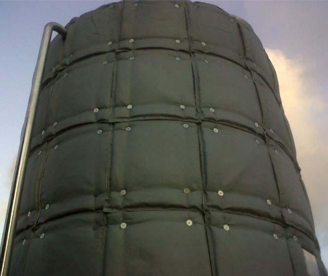 Manta térmica industrial