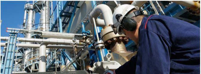 Recuperação de válvulas industriais
