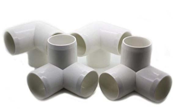 Tubos e conexões em polipropileno