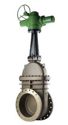 Válvula gaveta atuador elétrico
