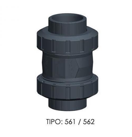 Válvulas de Retenção  Tipo: Cone, Disco ou Portinhola